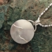 Michigan Upper Peninsula and Lake Superior Pendant Sterling Silver - uppen005